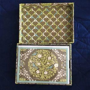 Vera Bradley notecards - Sittin' in a Tree pattern